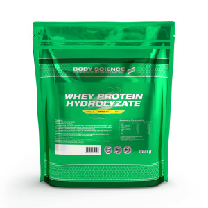 Body science whey protein hydrolysate proteinpulver