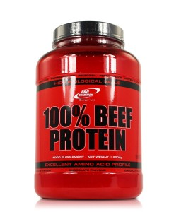 Pro nutrition 100% beef protein, ett biffproteinpulver