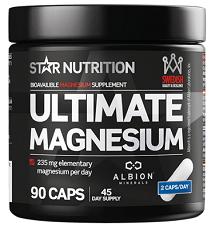Star nutrition billiga och bra magnesiumtabletter