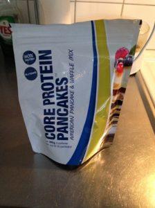Proteinpannkakor från Core.