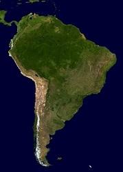 Brasilien och sydamerika