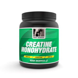 Body Science creatine monohydrate ett kreatin kosttillskott.