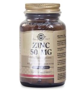 Solgar Zinc, ett mineral kosttillskott