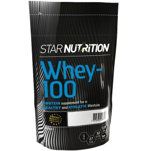 Star nutrition whey 100 proteinpulver