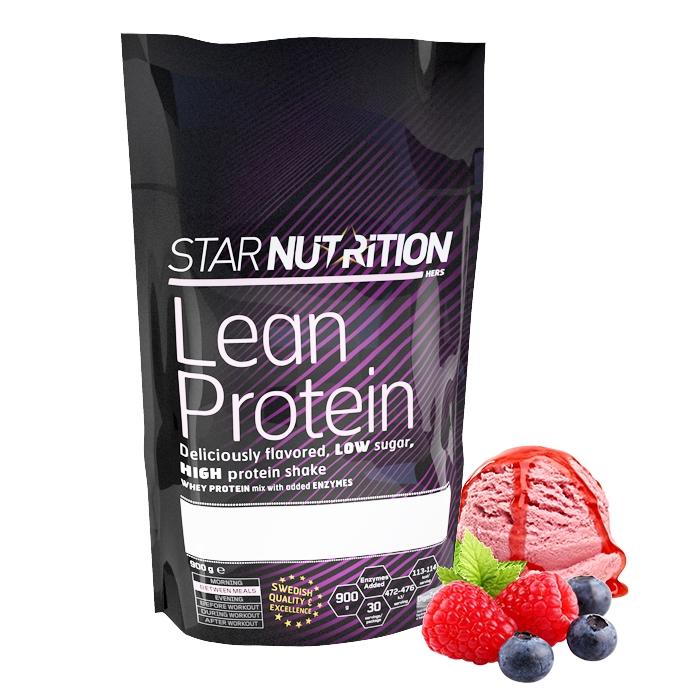 Lean protein, ett proteinpulver för tjejer