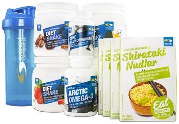 Deff och viktminskningspaket från Svenskt Kosttillskott