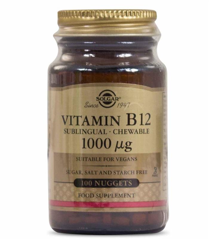 Billiga B12 tabletter från Solgar.