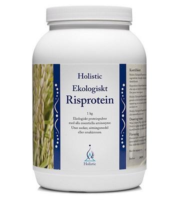 Holistic risprotein är riktigt bra.