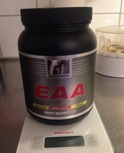 Body Science EAA är dom billigaste aminosyrorna 2015