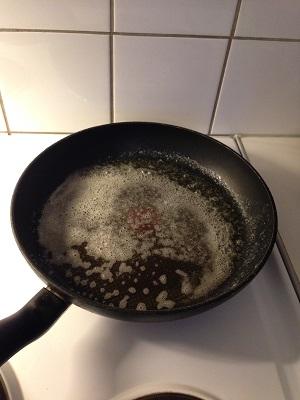 Smör i pannan