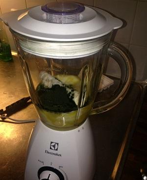 Recept med spirulina pulver