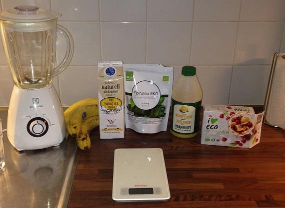 Recept med spirulina, drinkar och smoothies
