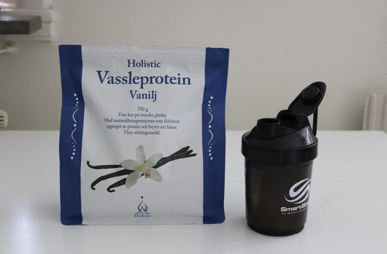 Holistic proteinpulver test